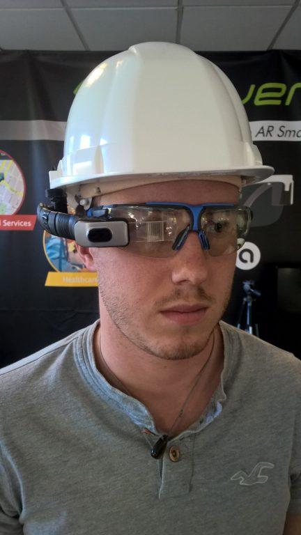 Opinvent ORA-H AR smart helmet